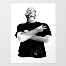 Slash Three! Art Print