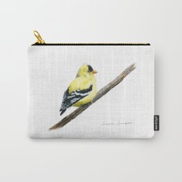 """Little Goldie"" painting by Teresa Thompson Carry-All Pouch"
