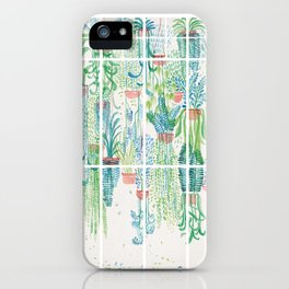 Winter in Glasshouses II iPhone Case