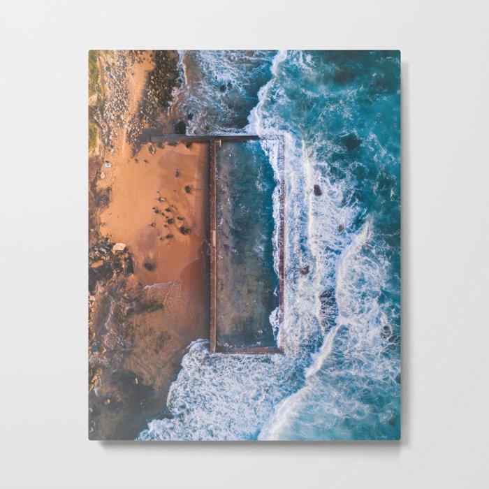 Natural swimming pool Metal Print
