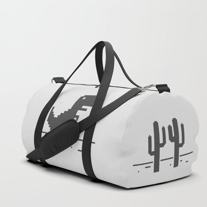 Google Chrome's Dino Duffle Bag
