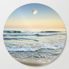 Serenity sea. Vintage. Square format Cutting Board