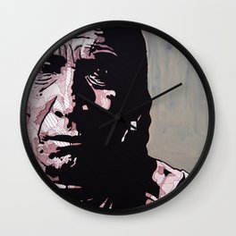 Crow Brave Wall Clock