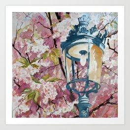 Paris in Spring Art Print