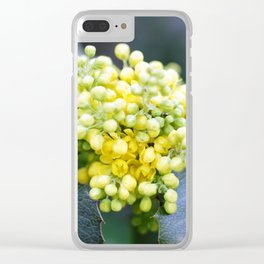 Spring flowers. Clear iPhone Case
