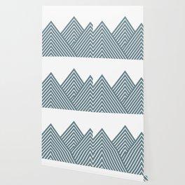 Geometric Mountain Wallpaper