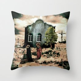 Preternatural Resonance Throw Pillow