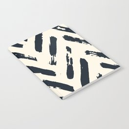 Retro Chevron Pattern 02 Notebook