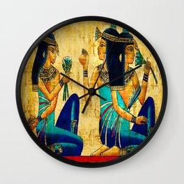 Egyptian Women Wall Clock