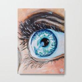Ocean Eye Metal Print