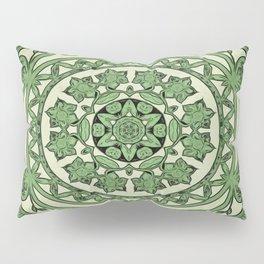 Scissor Cut In Green Pillow Sham
