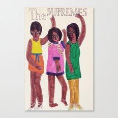 The Supremes Canvas Print