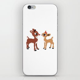 Classic Rudolph and Clarice iPhone Skin