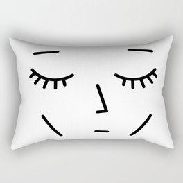 Face Sleep Rectangular Pillow