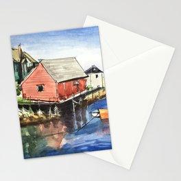 Peggy's Cove Nova Scotia Canada Stationery Cards