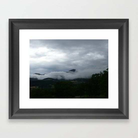 Skyclad Framed Art Print