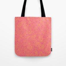 Transient half tone color blocking Tote Bag