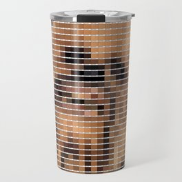Chewbacca - StarWars - Pantone Swatch Art Travel Mug