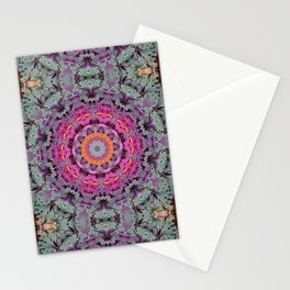 Kale mandala Stationery Cards