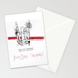 "Biffy Clyro - ""on a bang"" Stationery Cards"