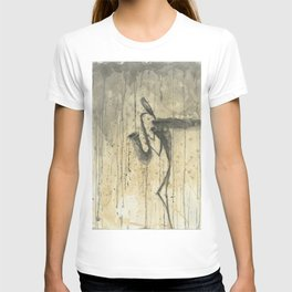 """SAXOPHONE. A SERIES OF WORKS """"MUSIC OF THE RAIN"""" T-shirt"""