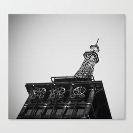 Eiffel Tower at Americana Canvas Print