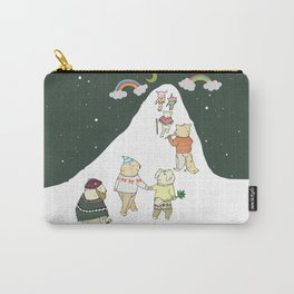 up to the mountain Carry-All Pouch