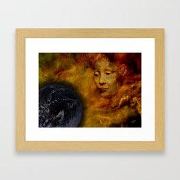 Gaia Wept Framed Art Print