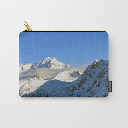 Mont Blanc from Les Arcs French Alps France Carry-All Pouch