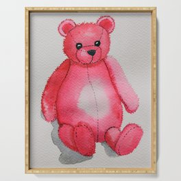 Rosy the Bear Serving Tray