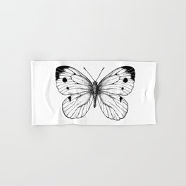 Cabbage butterfly Hand & Bath Towel