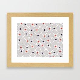 Chemistry Class Doodles Framed Art Print