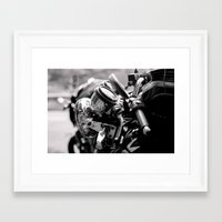 moto Framed Art Prints featuring moto by Farkas B. Szabina