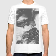 DISORDER White Mens Fitted Tee LARGE