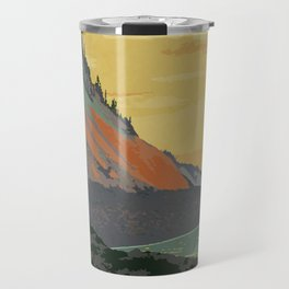 Five Islands Provincial Park Poster Travel Mug