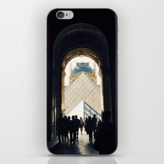 Through to Louvre iPhone & iPod Skin