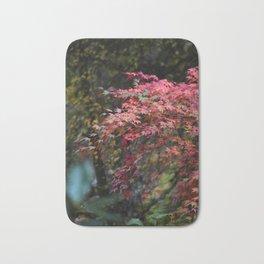 Japanese Maple Branches Bath Mat