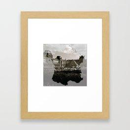 i louvre france Framed Art Print