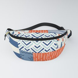 Beautiful Patch 9 (Nautical) Fanny Pack