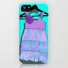 Purple Doll Dress iPhone Case