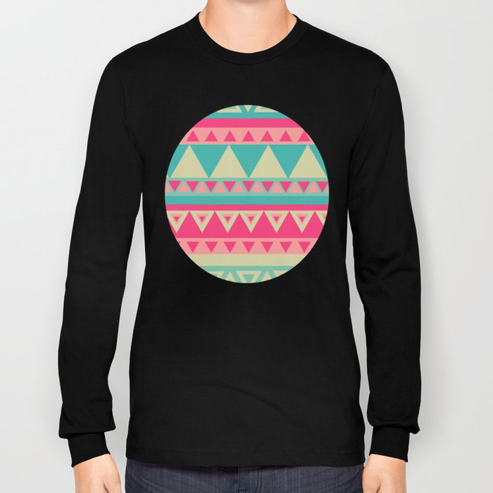 Tropical Tribal Long Sleeve T-shirt