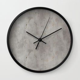 Dirty Bare Concrete Wall Clock