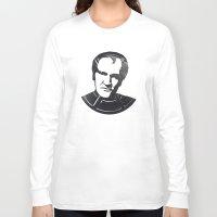 quentin tarantino Long Sleeve T-shirts featuring Quentin Tarantino by Alejandro de Antonio Fernández