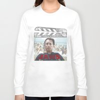 jaws Long Sleeve T-shirts featuring Jaws by Alan