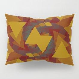 Interlocked Geometry Pillow Sham