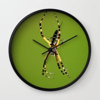 writer Wall Clocks featuring Natural Writer by RDelean