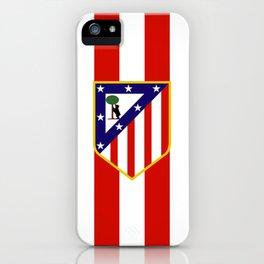 Atletico Madrid iPhone Case