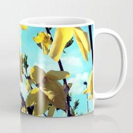 Forsythia Flowers Coffee Mug