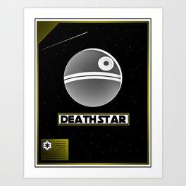 Death Star Poster Art Print