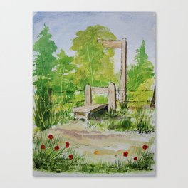 Country stile Canvas Print
